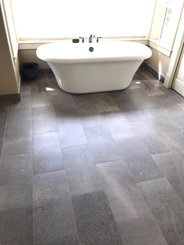 Image of SDA Flooring INC bathroom tile installation