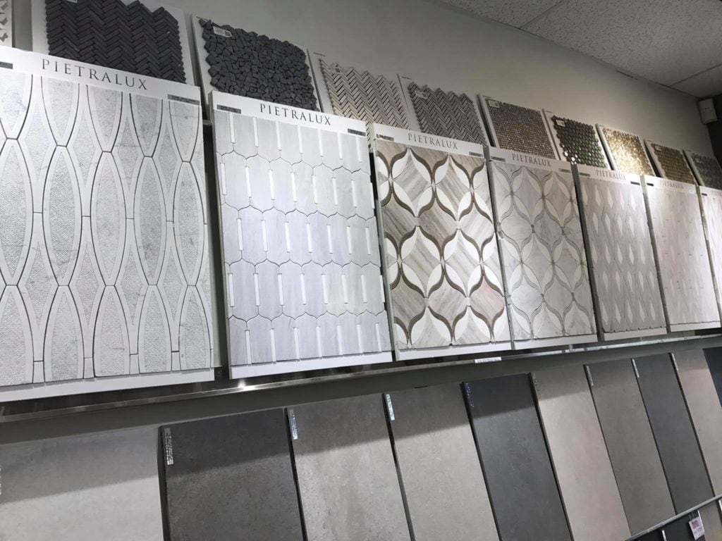 Image of SDA Flooring INC tile store showroom in Bellevue, WA