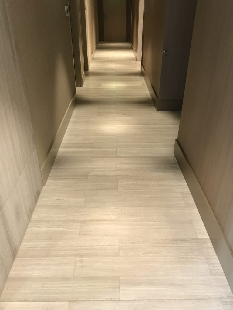 Image of a tile installation project done by SDA Flooring