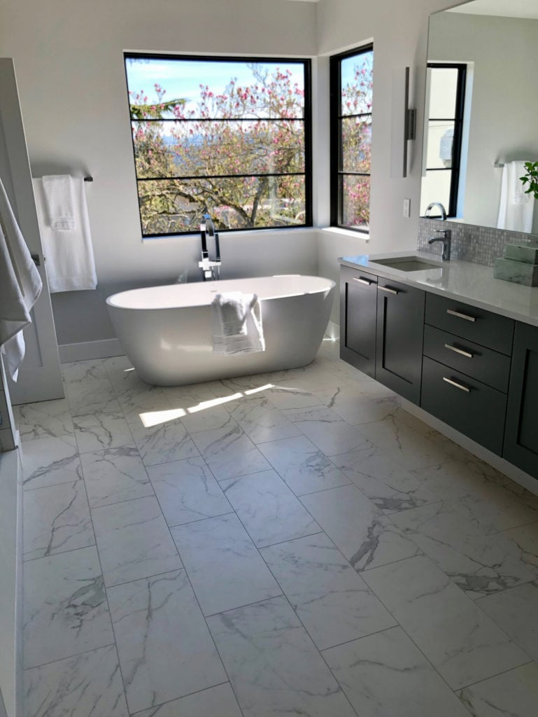 Mercer Island Seattle Tile Installation