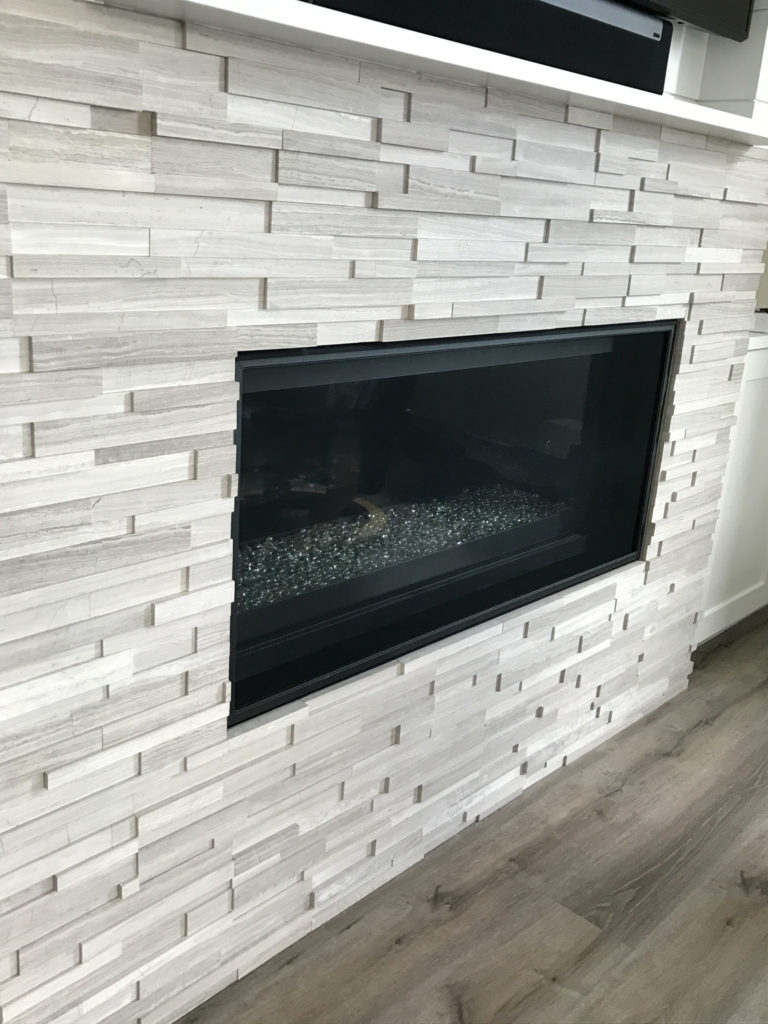 Lake Sammamish Custom Home Tile Installation