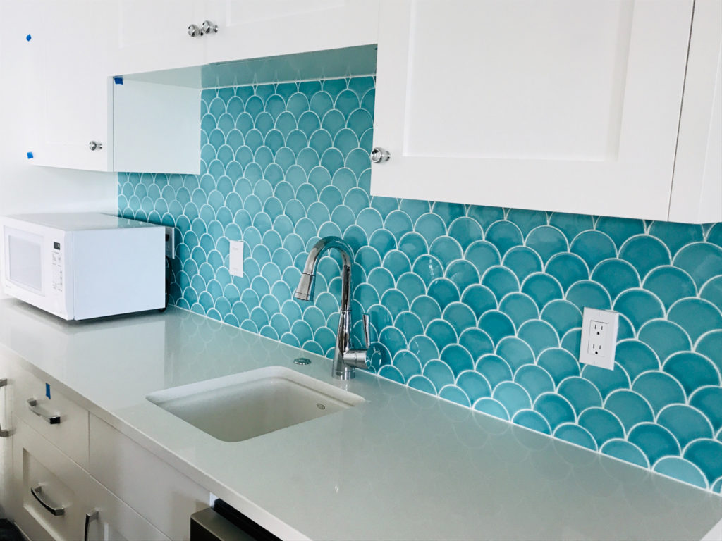 Lake Sammamish Custom Home Tile Installation