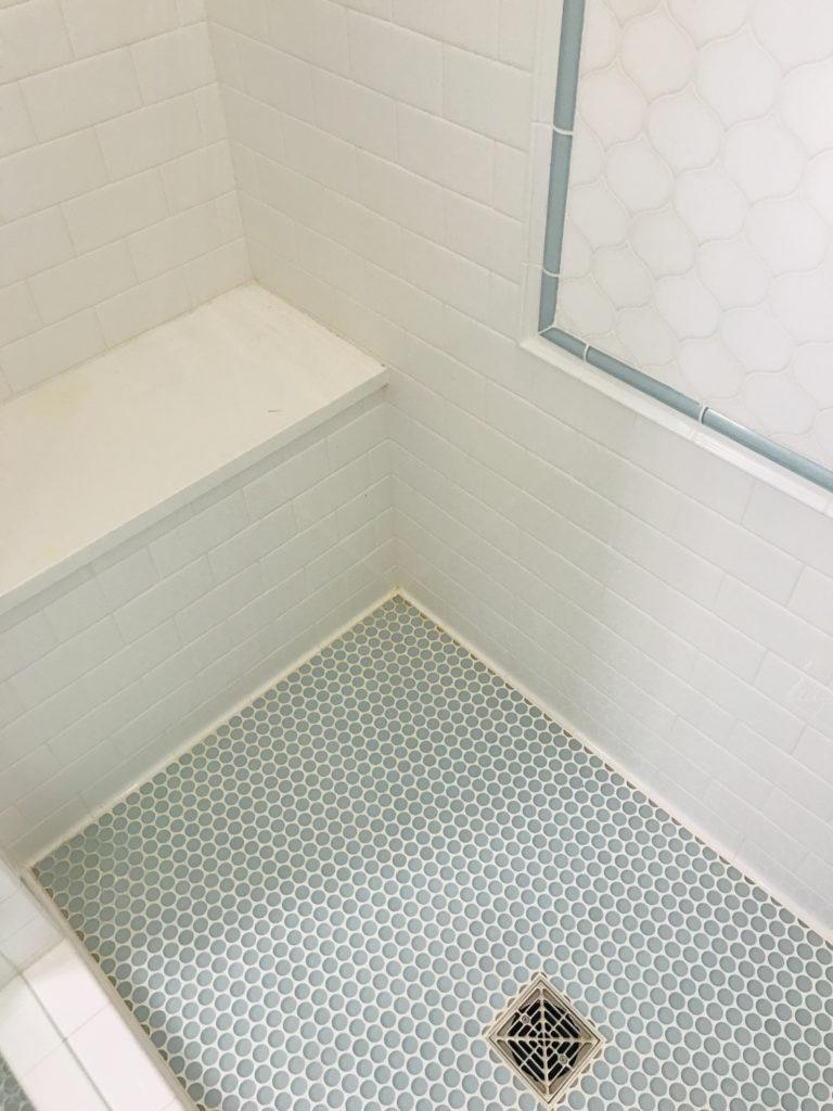 West Bellevue Custom Home Tile Installation
