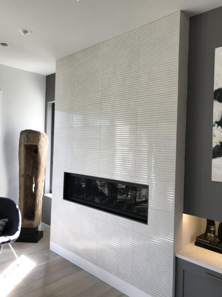 SDA Flooring Fireplace Tile Installation